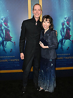 Sally Hawkins &amp; Doug Jones at the Los Angeles premiere of &quot;The Shape of Water&quot; at the Academy of Motion Picture Arts &amp; Sciences, Beverly Hills, USA 15 Nov. 2017<br /> Picture: Paul Smith/Featureflash/SilverHub 0208 004 5359 sales@silverhubmedia.com