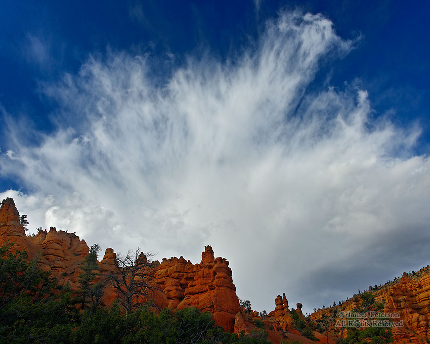 Autumn Thunderstorm, Casto Canyon, Utah