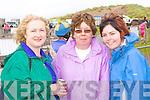 Eileen O'Shea, Ann and Martina Joy Glenbeigh having fun at Glenbeigh races at Rossbeigh beach on Sunday