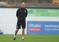 Fleetwood Town First Team Coach Clint Hill during the pre-match warm-up <br /> <br /> Photographer Kevin Barnes/CameraSport<br /> <br /> The EFL Sky Bet League One - Plymouth Argyle v Fleetwood Town - Saturday 24th November 2018 - Home Park - Plymouth<br /> <br /> World Copyright © 2018 CameraSport. All rights reserved. 43 Linden Ave. Countesthorpe. Leicester. England. LE8 5PG - Tel: +44 (0) 116 277 4147 - admin@camerasport.com - www.camerasport.com