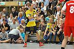 Rhein-Neckar Loewe Kim Ekdahl Du Rietz (Nr.60) am Ball im Testspiel, SG Leutershausen - Rhein-Neckar Loewen.<br /> <br /> Foto &copy; P-I-X.org *** Foto ist honorarpflichtig! *** Auf Anfrage in hoeherer Qualitaet/Aufloesung. Belegexemplar erbeten. Veroeffentlichung ausschliesslich fuer journalistisch-publizistische Zwecke. For editorial use only.