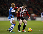 during the English Football League One match at Bramall Lane, Sheffield. Picture date: November 29th, 2016. Pic Jamie Tyerman/Sportimage