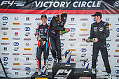 F4 US Championship<br /> Rounds 16-17-18<br /> Circuit of The Americas, Austin, TX USA<br /> Friday 15 September 2017<br /> 24, Benjamin Pedersen 8, Kyle Kirkwood 41, Braden Eves<br /> World Copyright: Keith Daniel Rizzo<br /> LAT Images