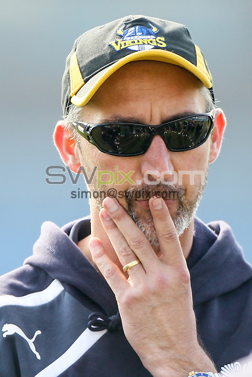 Picture by Alex Whitehead/SWpix.com - 09/04/2015 - Cricket - Yorkshire CCC v Leeds/Bradford MCCU - Day 3 - Headingley Stadium, Leeds, England - Yorkshire's Jason Gillespie.