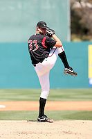 Nick Schmidt -  Lake Elsinore Storm playing against the Lancaster JetHawks at the Diamond, Lake Elsinore, CA - 05/16/2010.Photo by:  Bill Mitchell/Four Seam Images