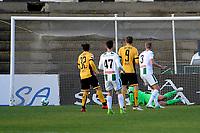 LA LINEA - Voetbal, FC Groningen - Dynamo Dresden, Trainingskamp FC Groningen, seizoen 2017-2018, 13-01-2018,  Dynamo Dresden scoort 0-3