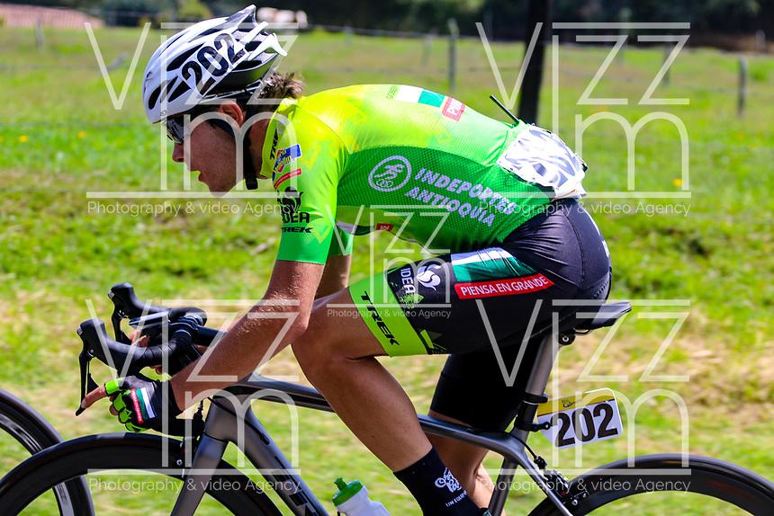 MEDELLIN - COLOMBIA, 13-02-2019: Jose Tito Hernandez (COL), Orgullo Paisa, durante la segunda etapa del Tour Colombia 2.1 2019 con un recorrido de 150.5 Km, que se corrió entre La Ceja Canadá - Carmen de Viboral - Rionegro - Canadá - La Ceja. / Jose Tito Hernandez (COL), Orgullo Paisa, during the second stage of 150.5 km of Tour Colombia 2.1 2019 that ran through La Ceja Canada - Carmen de Viboral - Rionegro - Canada - La Ceja.  Photo: VizzorImage / Anderson Bonilla / Cont