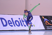 SPEED SKATING: SALT LAKE CITY: 19-11-2015, Utah Olympic Oval, ISU World Cup, training, Jorrit Bergsma (NED), ©foto Martin de Jong