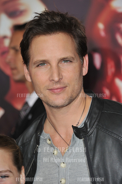 Peter Facinelli at the US premiere of &quot;The Hunger Games: Catching Fire&quot; at the Nokia Theatre LA Live.<br /> November 18, 2013  Los Angeles, CA<br /> Picture: Paul Smith / Featureflash