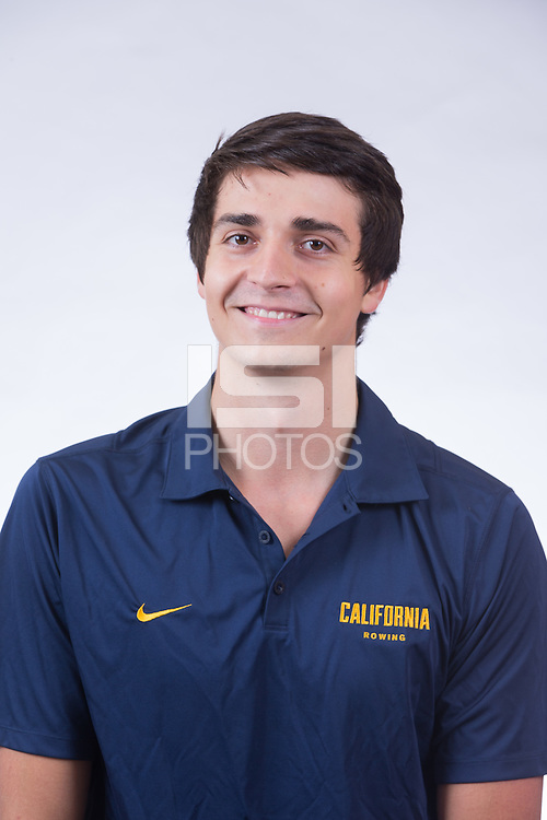 OAKLAND, CA - September 9, 2016: Cal Men's Rowing Portraits.