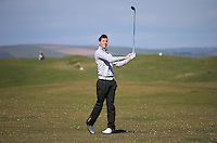 Tom Robson during Round Two of the West of England Championship 2016, at Royal North Devon Golf Club, Westward Ho!, Devon  23/04/2016. Picture: Golffile | David Lloyd<br /> <br /> All photos usage must carry mandatory copyright credit (&copy; Golffile | David Lloyd)