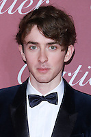 PALM SPRINGS, CA, USA - JANUARY 03: Matthew Beard arrives at the 26th Annual Palm Springs International Film Festival Awards Gala Presented By Cartier held at the Palm Springs Convention Center on January 3, 2015 in Palm Springs, California, United States. (Photo by David Acosta/Celebrity Monitor)