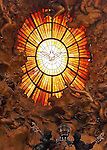 Window of the Holy Spirit, Gloria over Cathedra Petri, Bohemian glass, Apse, St Peter's Basilica, Rome