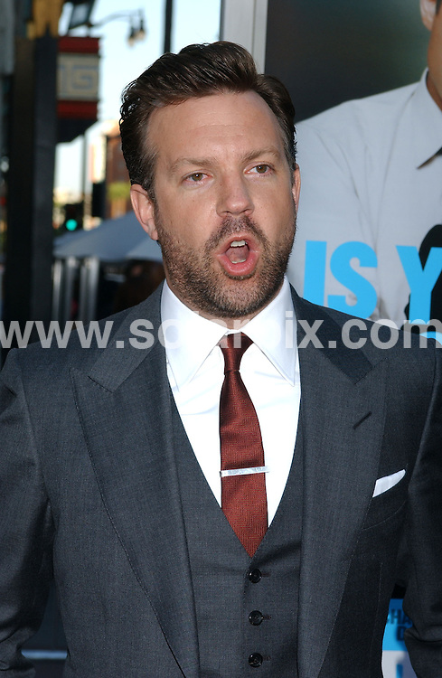 **ALL ROUND PICTURES FROM SOLARPIX.COM**                                 **WORLDWIDE SYNDICATION RIGHTS EXCEPT FOR USA & CANADA - NO PUBLICATION IN USA & CANADA**                   Caption: arrivals at the premiere of the film, HORRIBLE BOSSES  at the Graumans Chinese Theater in Hollywood, Los Angeles, USA. June 30, 2011                                                                                    This pic: Jason Sudeikis                                                                             JOB REF: 13650 GLS       DATE: 30_06_2011                                                            **MUST CREDIT SOLARPIX.COM OR DOUBLE FEE WILL BE CHARGED**                                                                        **MUST NOTIFY SOLARPIX OF ONLINE USAGE**                 **CALL US ON: +34 952 811 768 or LOW RATE FROM UK 0844 617 7637**
