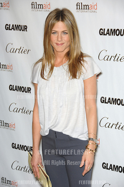 """JENNIFER ANISTON at the premiere, in Los Angeles, of Glamour Reel Moments - a series of short films written & directed by women in Hollywood. Aniston made her directorial debut with her movie """"Room 10"""".October 16, 2006  Los Angeles, CA.Picture: Paul Smith / Featureflash"""