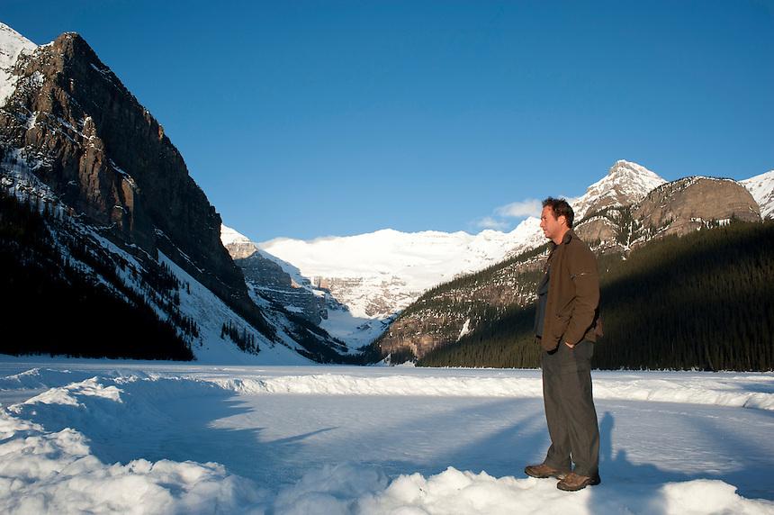 Lake Louise. Rockies, Alberta, Canada.