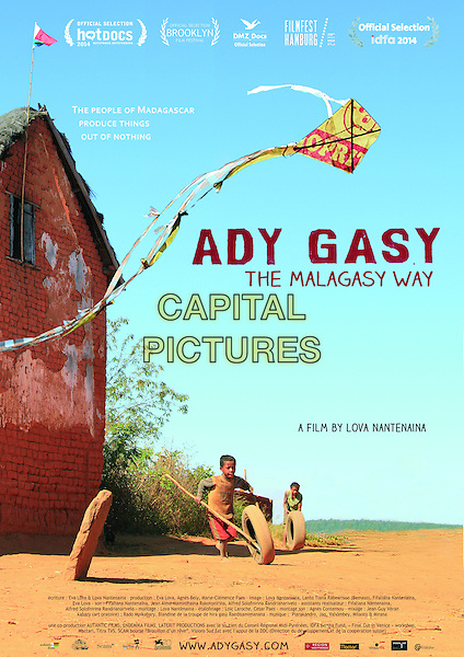 POSTER ART<br /> in Ady Gasy (2014) <br /> *Filmstill - Editorial Use Only*<br /> CAP/NFS<br /> Image supplied by Capital Pictures