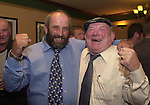 Danny Healy-Rae pictured with his father Jackie following the announcement that he will take Jackie's seat on Kerry County Council.<br />Picture: Eamonn Keogh (MacMonagle,Killarney0