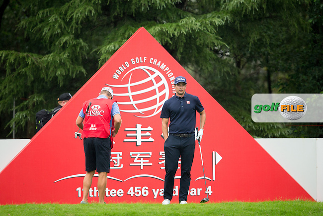 Adam Scott (AUS) on the 11th during round 1 of the WGC-HSBC Champions, Sheshan International GC, Shanghai, China PR.  27/10/2016<br /> Picture: Golffile | Fran Caffrey<br /> <br /> <br /> All photo usage must carry mandatory copyright credit (&copy; Golffile | Fran Caffrey)