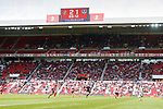 Portsmouth search for an equaliser in the last minute. Sunderland 2 Portsmouth 1, 17/08/2019. Stadium of Light, League One. Photo by Paul Thompson.