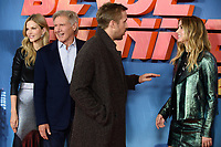 Sylvia Hoeks, Harrison Ford, Ryan Gosling and Ana De Armas<br /> at the &quot;Blade Runner 2049&quot; photocall, Corinthia Hotel, London<br /> <br /> <br /> &copy;Ash Knotek  D3312  21/09/2017