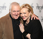 John Kander and Susan Stroman attends the Opening Night Performance of 'The Beast In The Jungle' at The Vineyard Theatre on May 23, 2018 in New York City.