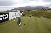 27 May 2015; <br /> <br /> Dubai Duty Free Irish Open Golf Championship 2015, Pro-Am. Royal County Down Golf Club, Co. Down. Picture credit: John Dickson / DICKSONDIGITAL