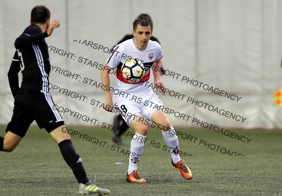 Zoran Milutinovic Vozdovac - Cukaricki super liga Srbije 5.4.1018. April 5. 2018. (credit image & photo: Pedja Milosavljevic / STARSPORT)