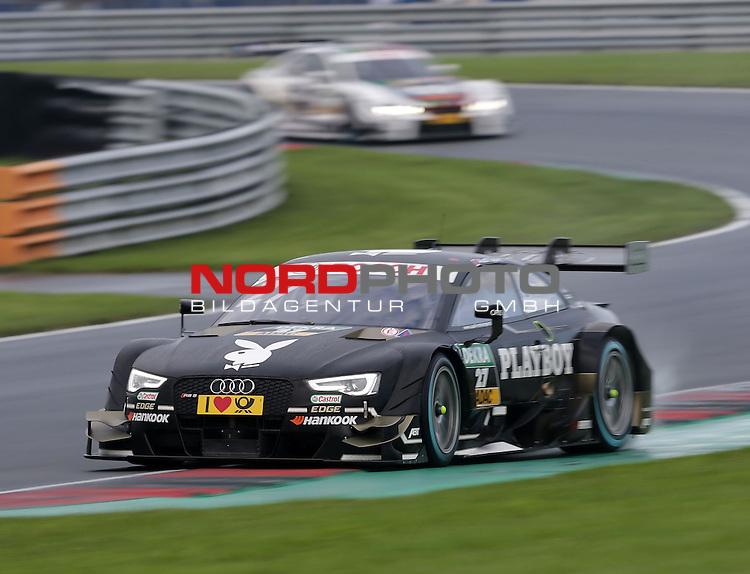 DTM 2015, 07.Lauf Oschersleben, 11.09. - 13.09.15 <br /> Adrien Tambay (FRA#27) Audi Sport Team Abt Audi RS 5 DTM <br /> <br /> <br /> <br /> <br /> <br /> Foto &copy; nordphoto /  Bratic