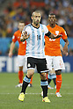 Javier Mascherano (ARG),<br /> JULY 9, 2014 - Football / Soccer :<br /> FIFA World Cup 2014 semi-final match between Netherlands 0(2-4)0 Argentina at Arena De Sao Paulo Stadium in Sao Paulo, Brazil. (Photo by AFLO) [3604]