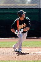 Shane Keough - Oakland Athletics - 2009 spring training.Photo by:  Bill Mitchell/Four Seam Images