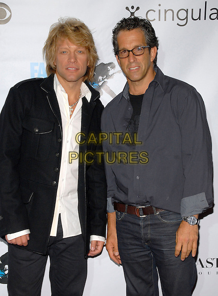 JON BON JOVI & KENNETH COLE.Conde Nast Media Group's Third Annual Fashion Rocks Concert at Radio City Music Hall, New York, NY, USA,.7 September 2006..half length.Ref: ADM/PH.www.capitalpictures.com.sales@capitalpictures.com.©Paul Hawthorne/AdMedia/Capital Pictures. *** Local Caption ***