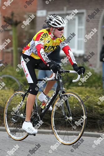 2010-03-13 / Wielrennen / Seizoen 2010 / Nieuwelingen / Wouter Van Engeland , Onze-Lieve-Vrouw-Waver..Foto: Mpics