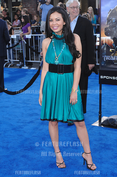 """Janel Parrish at the Los Angeles premiere of """"Transformers""""..June 28, 2007  Los Angeles, CA.Picture: Paul Smith / Featureflash"""