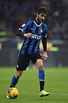 Andrea Ranocchia of Inter during the Coppa Italia match at Giuseppe Meazza, Milan. Picture date: 14th January 2020. Picture credit should read: Jonathan Moscrop/Sportimage
