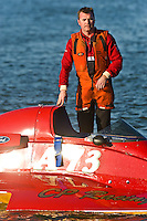 "Shaun Cassidy, A-73 ""CP Racing"", 2.5 Mod class hydroplane"