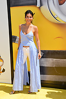Angie Harmon at the world premiere for &quot;Despicable Me 3&quot; at the Shrine Auditorium, Los Angeles, USA 24 June  2017<br /> Picture: Paul Smith/Featureflash/SilverHub 0208 004 5359 sales@silverhubmedia.com