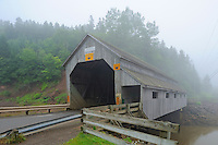 Vaughn Creek #1 , Irish River Covered bridge<br /> Saint Martins<br /> New Brunswick<br /> Canada