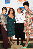 LOS ANGELES - OCT 28: Peyton Elizabeth Lee, Debbie Allen, Raven Symone, Sofia Wylie at The Actors Fund's 2018 Looking Ahead Awards at the Taglyan Complex on October, 2018 in Los Angeles, California