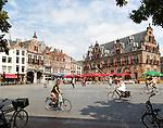 Waaghuis building from 1612, Grote Markt, Nijmegen, Gelderland, Netherlands