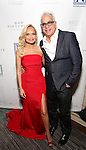 Kristin Chenoweth and Richard Jay-Alexander attend the Opening Night celebration for Kristin Chenoweth - 'My Love Letter To Broadway'  at the Bar Sixty Five at the Rainbow Room Bar on November 2, 2016 in New York City.