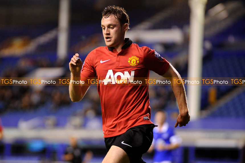 Will Keane of Manchester United - Everton Under-21 vs Manchester United Under-21 - Barclays Under-21 Premier League Football at Goodison Park, Liverpool - 21/10/13 - MANDATORY CREDIT: Greig Bertram/TGSPHOTO - Self billing applies where appropriate - 0845 094 6026 - contact@tgsphoto.co.uk - NO UNPAID USE