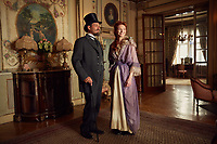 Colette (2018) <br /> Dominic West &amp; Eleanor Tomlinson.<br /> *Filmstill - Editorial Use Only*<br /> CAP/MFS<br /> Image supplied by Capital Pictures