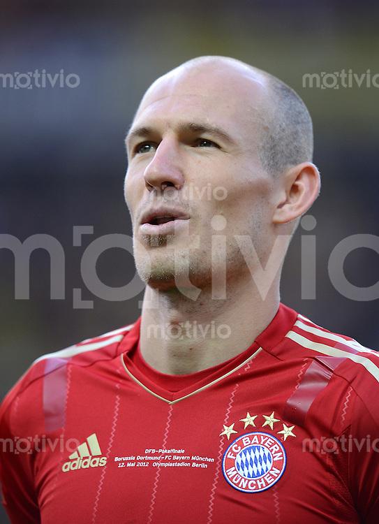 FUSSBALL      DFB POKAL FINALE       SAISON 2011/2012 Borussia Dortmund - FC Bayern Muenchen   12.05.2012 Arjen Robben (FC Bayern Muenchen)