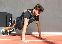 Amstelveen,  Netherlands, Oktober 29,  2019, National Tennis Center , NTC, KNLTB Fitness and stability<br /> Photo: Tennisimages/Henk Koster