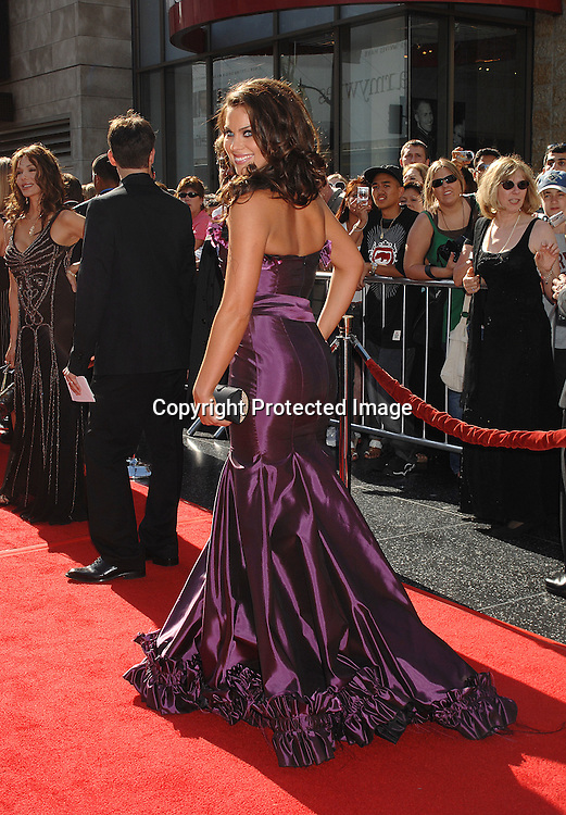 Nadia Bjorlin..arriving at The 34th Annual Daytime Emmy Awards on ..June 15, 2007 at The Kodak Theatre in Hollywood, California. ..Robin Platzer, Twin Images......212-935-0770