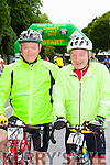 Founding organisor Denis Geaney with Don Ahern Killarney at the start of the Ring of Kerry cycle in Killarney on Saturday morning