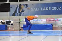 SCHAATSEN: SALT LAKE CITY: Utah Olympic Oval, 14-11-2013, Essent ISU World Cup, training, Rhian Ket (NED), ©foto Martin de Jong