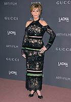 Jane Fonda at the 2017 LACMA Art+Film Gala at the Los Angeles County Museum of Art, Los Angeles, USA 04 Nov. 2017<br /> Picture: Paul Smith/Featureflash/SilverHub 0208 004 5359 sales@silverhubmedia.com