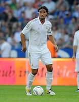 FUSSBALL   INTERNATIONAL   SAISON 2011/2012   TESTSPIEL Herha BSC Berlin - Real Madrid         27.07.2011      Sami KHEDIRA (Real Madrid) Einzelaktion am Ball